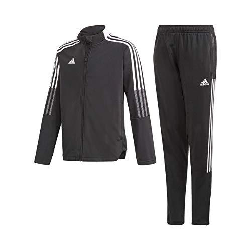 adidas GP1027 Tiro Suit Y Tracksuit Unisex-Child Black 1314