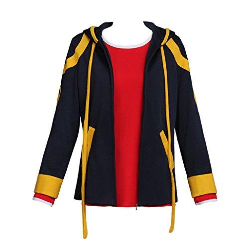 CosplayDiy Men's Coat&Shirt for Mystic Messenger Saeyoung Choi Cosplay L