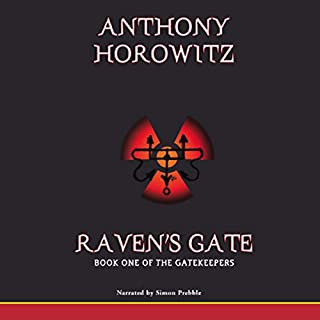 Raven's Gate audiobook cover art