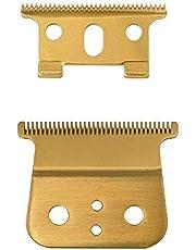 Ctzrzyt Gold para T outliner Repuesto, Cuchillas de Temporizador Anchas de Oro Dobles para Reemplazo de Andis, Dorado