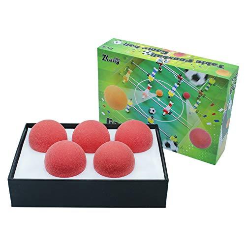 Zkung sports Kickerbälle Tischfussball Bälle Tischfußball Foosballs Replacements Mini Fußbälle für Tischkicker Set von 5