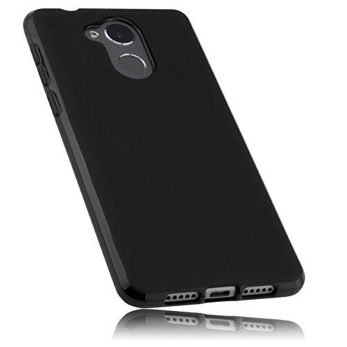 mumbi Hülle kompatibel mit Honor 6C Handy Case Handyhülle, schwarz