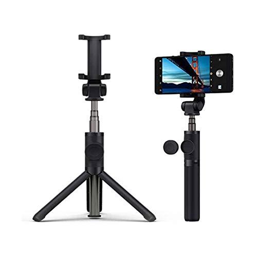 HKJZ SFLRW Bluetooth Phone Tripod, Soporte de trípode de cámara Celular portátil, Soporte de trípode para Selfies/vlogging/Streaming/fotografía Compatible con Todo el teléfono Celular
