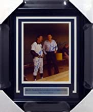 George Steinbrenner & Billy Martin Autographed Framed 8x10 Photo New York Yankees Beckett Bas #A52096