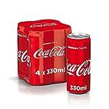 Coca - Cola Original Taste Lattine, 4 x 330ml