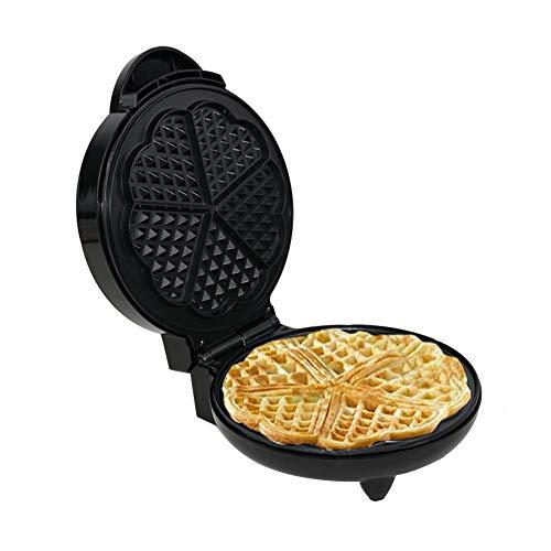 /Ø 18 cm, 1300 W, Plaque de cuisson rotative, Minuterie jusqu/à 99 min, /Écran LED Royal Catering RCWM-1300-RE Gaufrier Rond Appareil a Gaufres Belges Waffle Machine a Gaufre