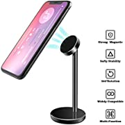 Magnetic iPhone Desk Stand, licheers Desktop Phone Tablet Mount Holder Face Time Call and Watching Videos with Hands Free for iPhone X/8/8 Plus Samsung Galaxy S8/Note 8 iPad and More