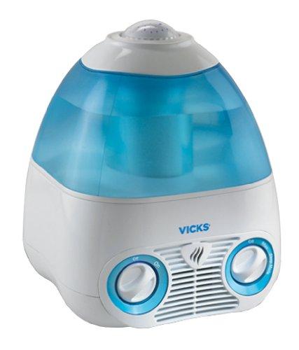 Kaz VICKS 気化式加湿器 【天井に七色の星が映る】 MODEL V3700