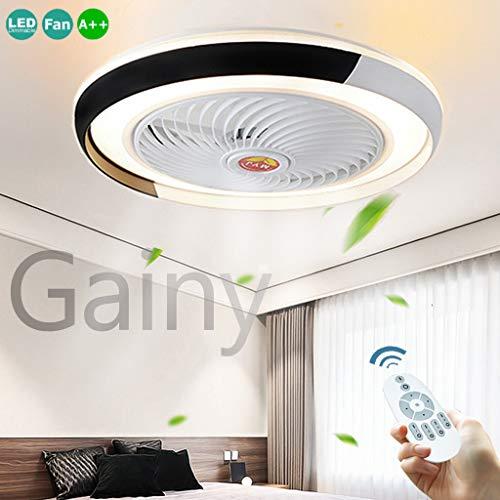 Ventilador De Techo Con Iluminación LED 36W Ventilador De