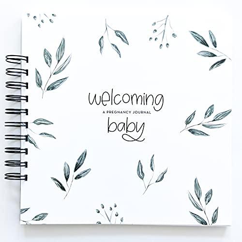 Botanicals Pregnancy Journal: A gender neutral nine-month journal to document every important pregnancy milestone