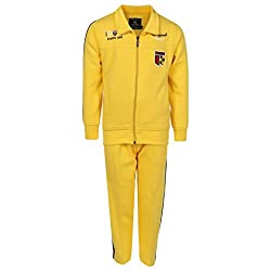 HAIG-DOT Yellow Zipper Tracksuit for Boys