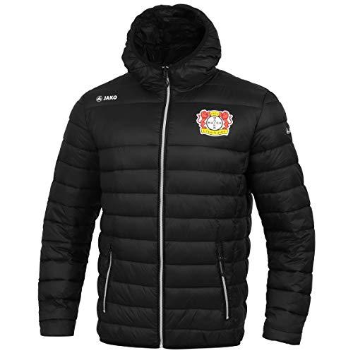 JAKO Kinder, (Saison 19/20) Bayer 04 Leverkusen Steppjacke, schwarz, 140