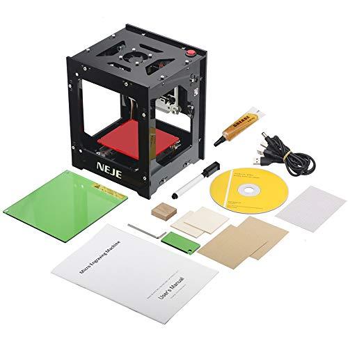1000mw Mini DIY Laser Incisore Stampante Macchina Stampa Logo Immagine/Legno / Gomma/Cuoio