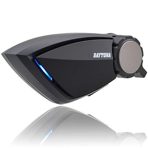 Daytona DT-E1 99113 Bike Intercom with 4 Persons and Up to 800 m (800 m) Communication, Auto-Return Calls, Bluetooth