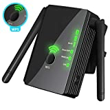 [Upgraded 2020] WiFi Extender 300 Mbps with WPS Internet Signal Booster Amplifier - Wireless Repeater up to 300 Mbps - Range Network Alexa Compatible, Extends AC WiFi Coverage to Smart Home Devices