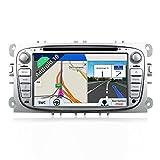 Autoradio Android 9.0 Doppia Din Car Stereo Radio Navigation Per Ford Focus Mondeo S-Max F...