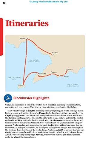 Lonely Planet Naples, Pompeii & the Amalfi Coast 6 (Regional Guide) - 417PUA0pfWL. SL500