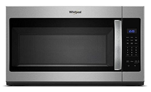 Whirlpool WMH31017HS 1.7 Cu. Ft. 1000W Range Microwave, Stainless Steel