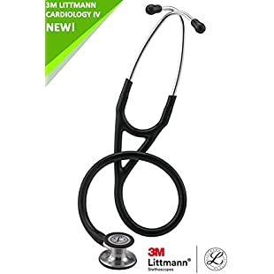3M Littmann Cardiology IV with Laser Engraving (Navy Blue)