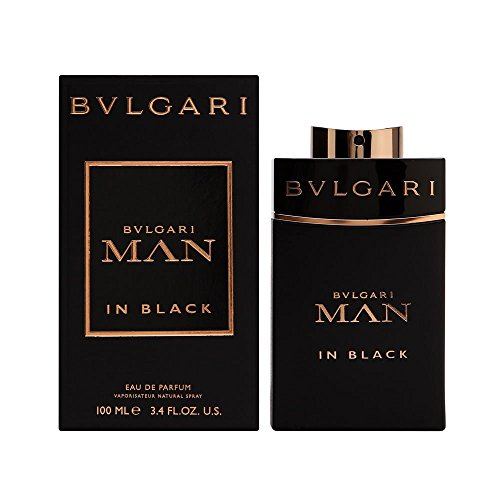 Bulgari Man in Black Homme/Men, Eau de Parfum, 1er Pack (1 x 100 ml)
