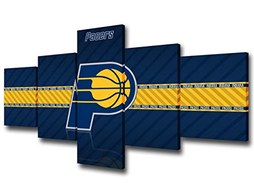 Indiana Pacers NBA Framed 8x10 Photograph Team Logo and Basketball