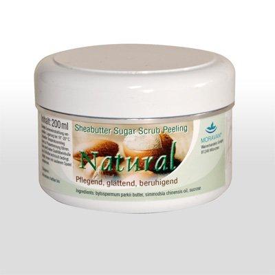 Moravan Natural Sheabutter Sugar Scrub Peeling 200ml