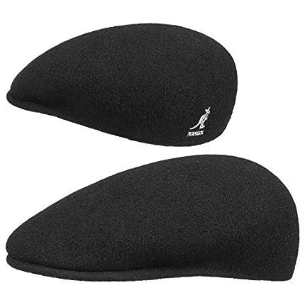 Kangol 504 - Boina para Hombre, de lana negro Small