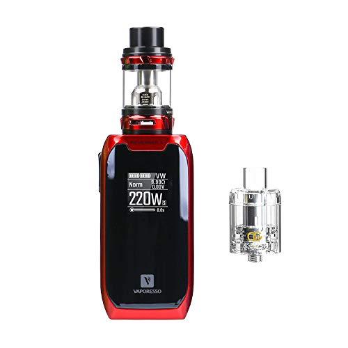Vaporesso Revenger X Kit Tank/E Zigarette Starter Kit/Vaporizer/Elektronische Zigarette ohne Tabak - ohne Nikotin-[Original Auf Lager] (Rot)