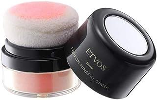 ETVOS(エトヴォス) ポンポンミネラルチーク 2g 石けんで落ちる/天然色素 パフ一体型/時短 #ハニーサックル