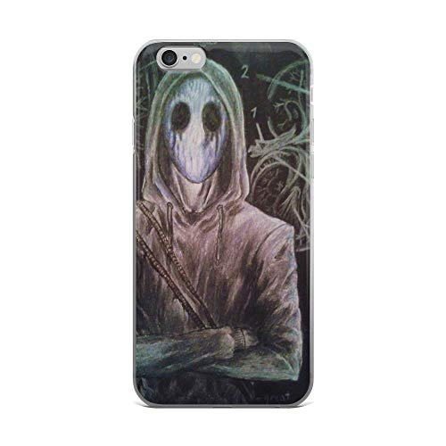 iPhone 6 Plus/6s Plus Pure Clear Case Cases Cover Eyeless Jack Creepypasta