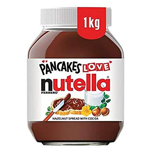 Nutella Spread avellana chocolate 1kg