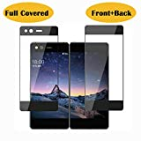 Tempered Glass Film Screen Protector Compatible for ZTE Axon M Z999 Front+Back Full Covered