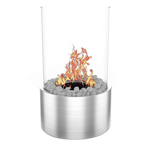 Moda Flame GF307950SS Ghost Tabletop Firepit Ethanol Fireplace -...