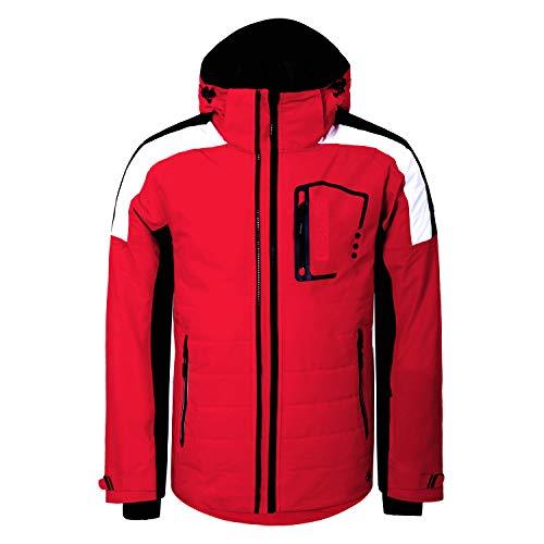 LUHTA Max - heren ski-jack snowboard jack - 232521393-650 rood