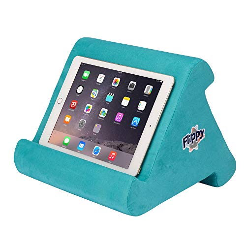 The Original Flippy Multi-Angle Soft Pillow Lap Stand for iPads, Tablets, eReaders, Smartphones, Books, Magazines (I Wanna Go to Miami)