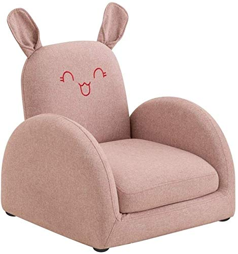 Armchairs NUBAO TOY Sofa Children's Sofa Seat Boys And Girls Single Child Baby Small Sofa Chair Beanbag Chair (Color : Pink, Size : 52x53x52cm) (Color : Pink, Size : 52x53x52cm)