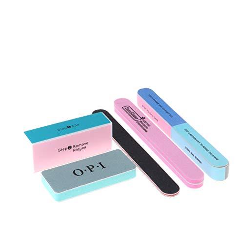 5x Schwammschleifgerät Schwammfeile Schleifblock Polierfeile Schleifwerkzeug für Manuellen Schleifen