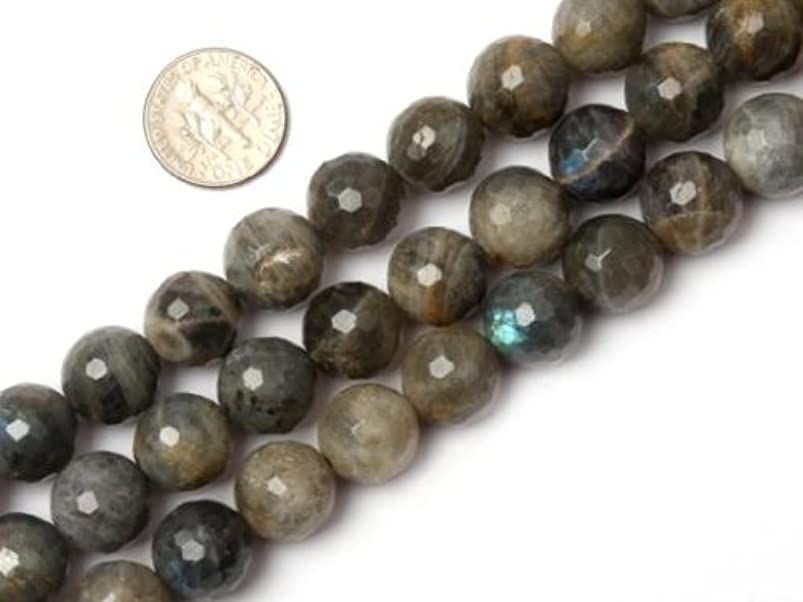 12mm Round Faceted Labradorite Bead Strand 15 Inch Jewelry Making Beads tsxbvbaq638626