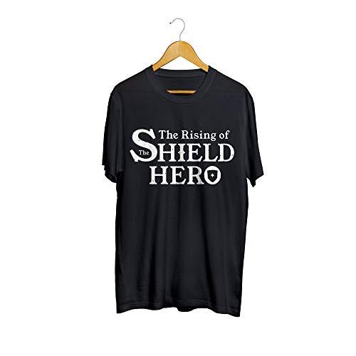 Camiseta Camisa The Rising of The Shield Hero Anime Masculino Preto Tamanho:P