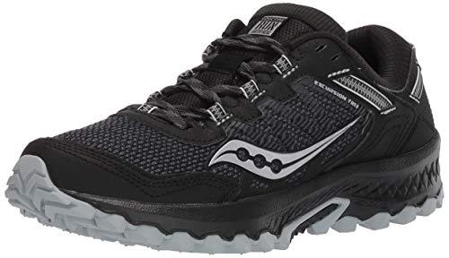 Saucony Men's VERSAFOAM Excursion TR13 Road Running Shoe, Black, 10.5 M US