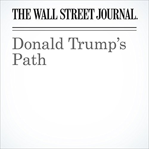 Donald Trump's Path audiobook cover art