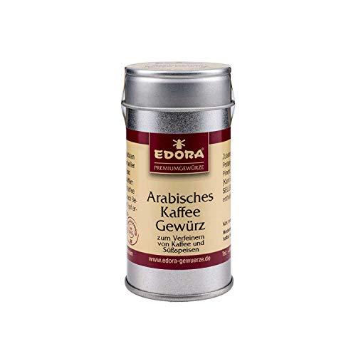 Premium Qualität Gewürz EDORA Streudose Streuer Arabisches Kaffeegewürz Gewürzzubereitung zum verfeinern von Kaffee und Süßspeisen 35 Gramm
