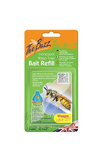 CATCHER 3 paquetes de repuesto 4 g bolsas de avispa atraente cebo recargas para avispas trampas botellas sin veneno no tóxico duradero resistente