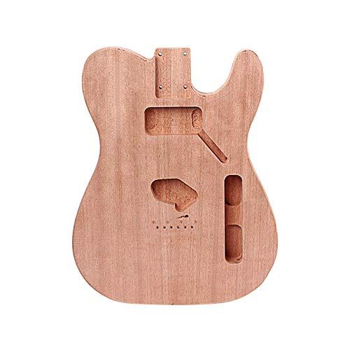 DIY-Komponenten-Gitarren-Körper TL E-Gitarren-Körper-Massivholz-Gitarren-DIY-Zubehör, Pickup-Loch Natural Wood Farbe