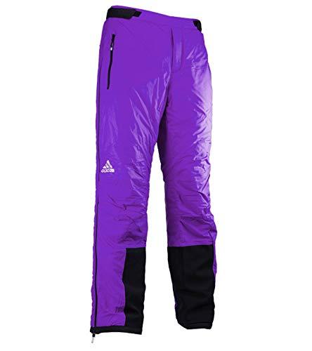 adidas Pad Pant M Ski-Hose wattierte Herren Snowboard-Hose Schnee-Hose Wintersport Violett, Größe:42