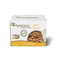 Natural kitten food. We insist on using only the highest quality protein in Applaws recipes High Protein - Promotes lean muscle tissue. No derivatives, artificial flavours, colours or preservatives. Applaws complimentary, nutritious wet cat food is p...
