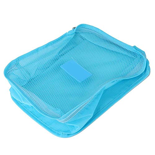 Draagbare reis-opbergtas Bagage-koffer Ondergoed Schoenen Kledingopbergtas Blauwe tassen