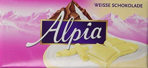 Alpia Schokolade Weisse, 20er Pack (20 x 100 g)