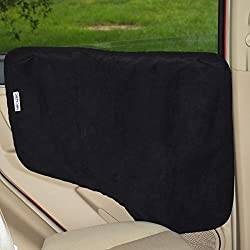 NAC&ZAC Waterproof Pet Car Door Cover -Two Options to Install. Fit All Vehicles