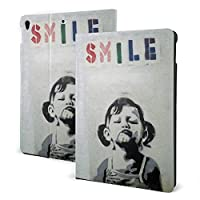 タブレットケース Smile Girl Ipad 10.2 ケース 第7世代 (2019モデル) 全面保護型 Ipad 10.5 インチ 収納可能 Ipad 10.2 インチ 保護カバー 傷つけ防止 新しい 手帳型 脱着式 軽量 薄型 二つ折 Pu